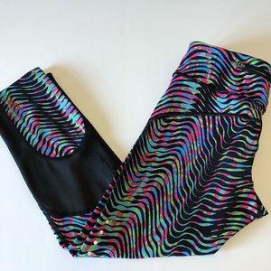 Nike Epic Lux Sidewinder Crop Pants, Size XS